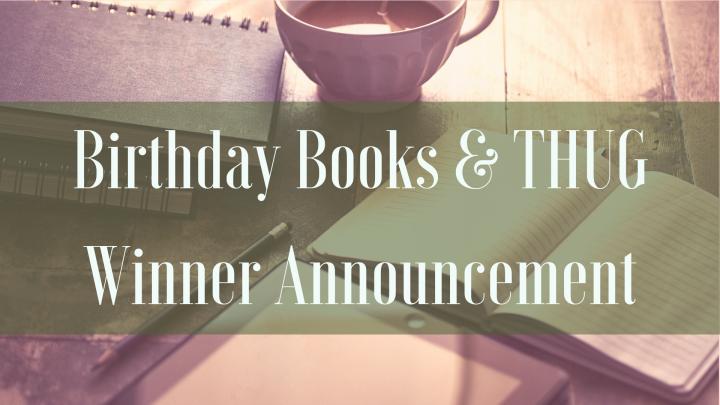 Birthday Books & THUGWinner
