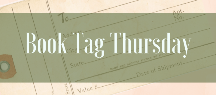 Book Tag | Three Bookish Things