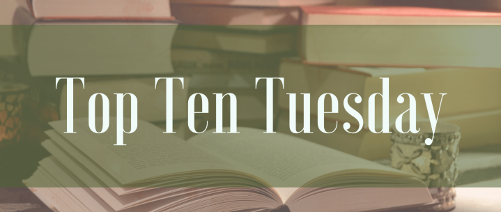 Top 10 Tuesday | Books with my Favourite Colour on the Cover: Part 2!