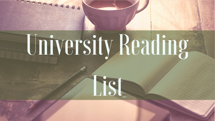 University Reading List | The Undergraduate Edition