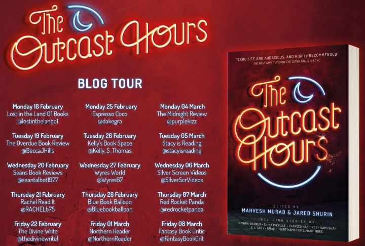 Blog Tour: The Outcast Hours | INTNL GIVEAWAY