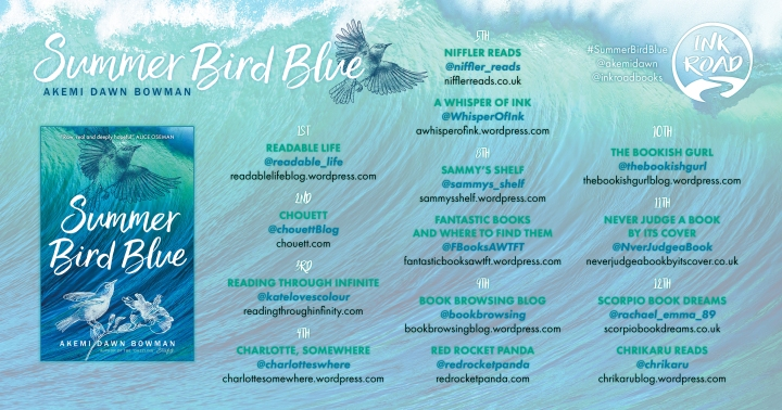 Blog Tour: Summer Bird Blue | Playlist