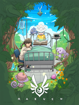 Rakuen_Poster_Description